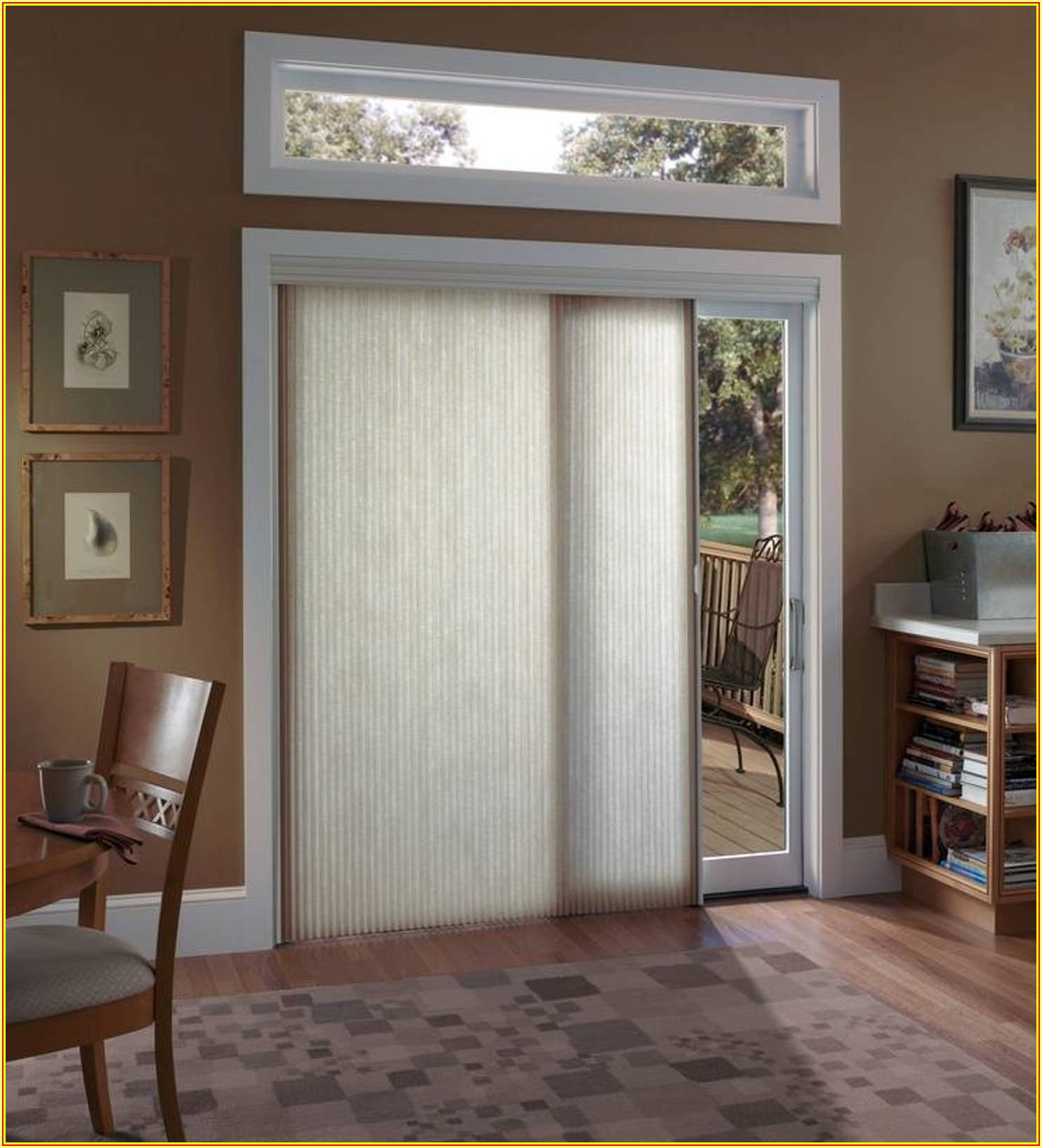 Sliding Patio Door Covering Ideas