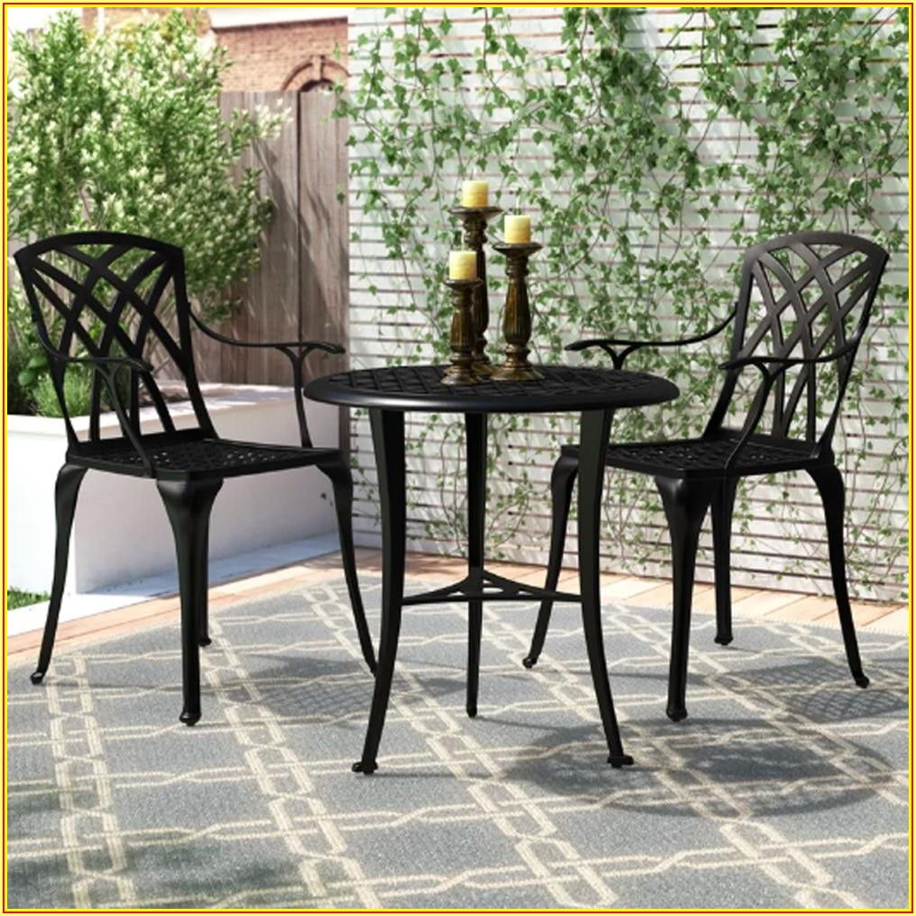 Small Patio Bistro Set