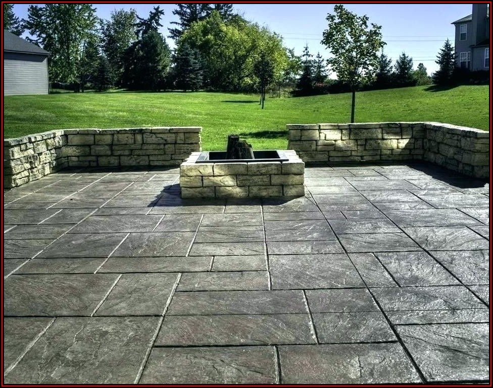 Stamped Concrete Patio Vs Pavers