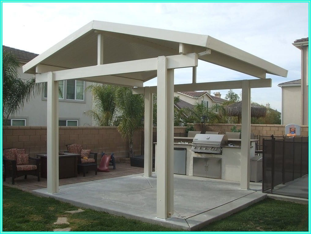Stand Alone Free Standing Patio Cover Plans
