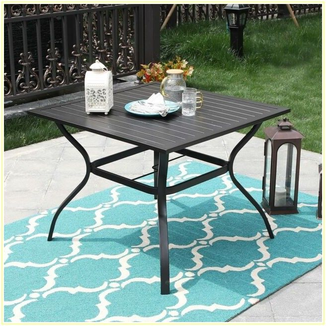 Tall Patio Table With Umbrella Hole