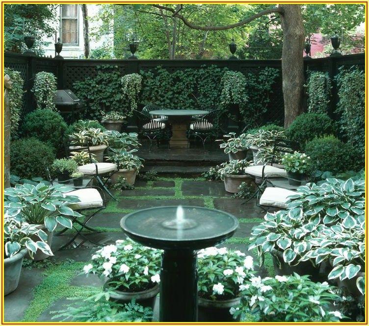 Townhouse Small Patio Garden Ideas