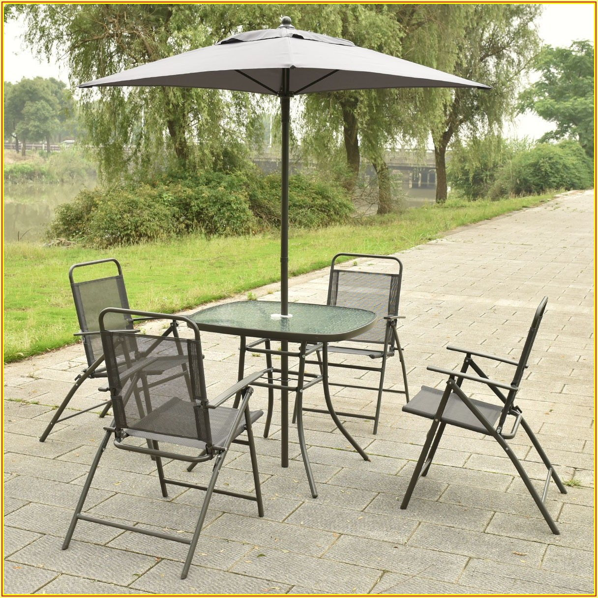 Walmart Patio Set With Umbrella