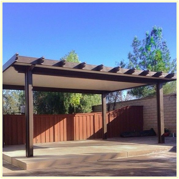 Wood Free Standing Patio Covers
