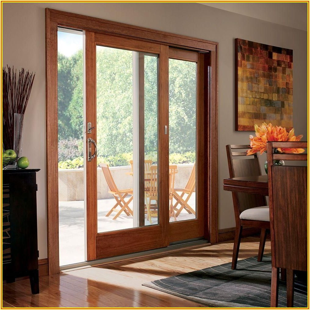 Wood Sliding French Patio Doors