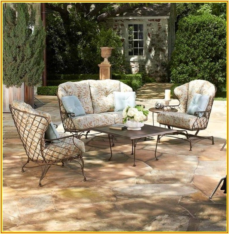 Woodard Wrought Iron Patio Furniture Parts