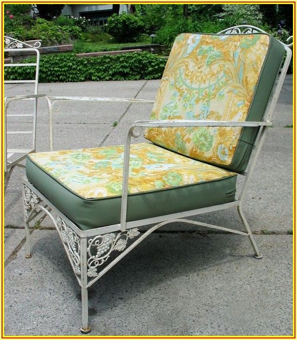 Woodard Wrought Iron Patio Furniture Vintage