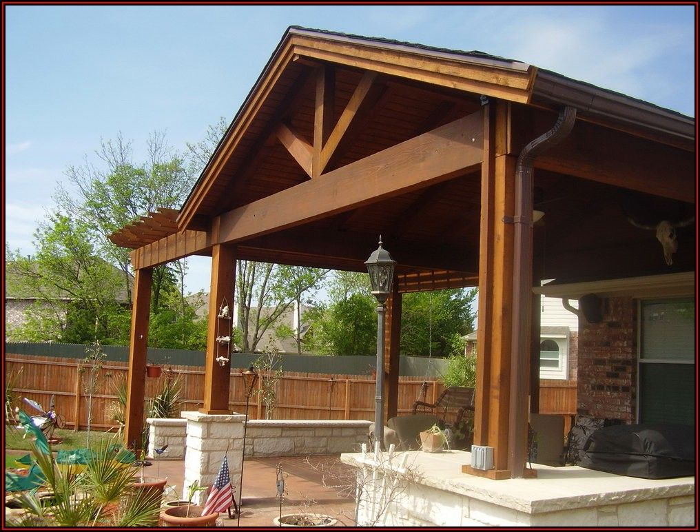 Wooden Awnings For Patio