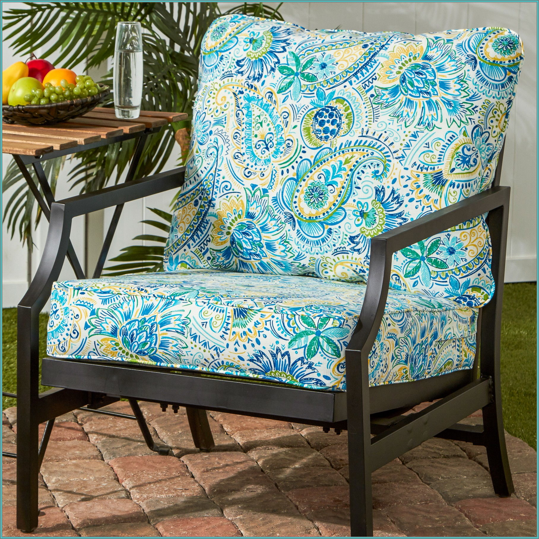 1 Piece Patio Chair Cushion