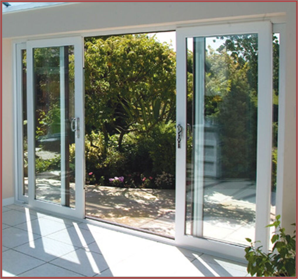 10 Foot Double Sliding Patio Door