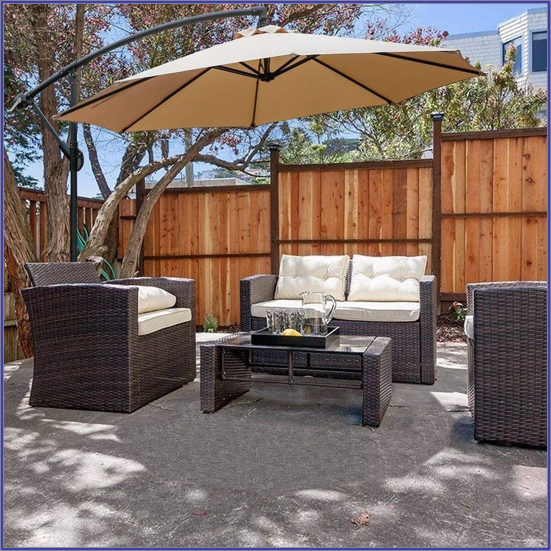 10 Ft Cantilever Patio Umbrella
