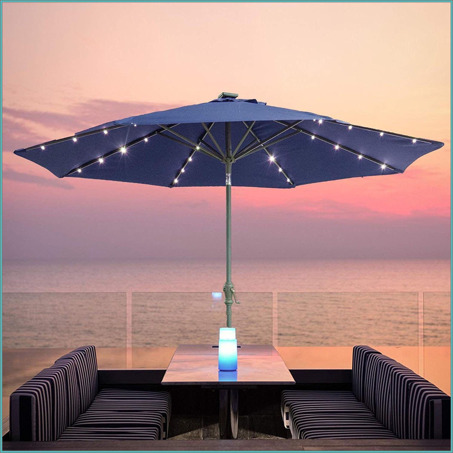 10 Solar Patio Umbrella