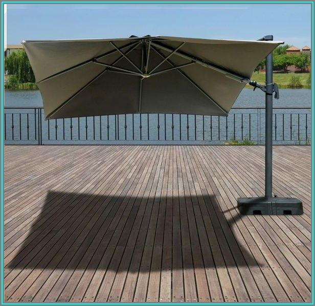 10x10 Patio Umbrella With Lights
