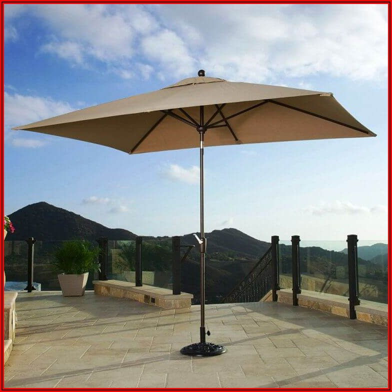 11 Square Patio Umbrella