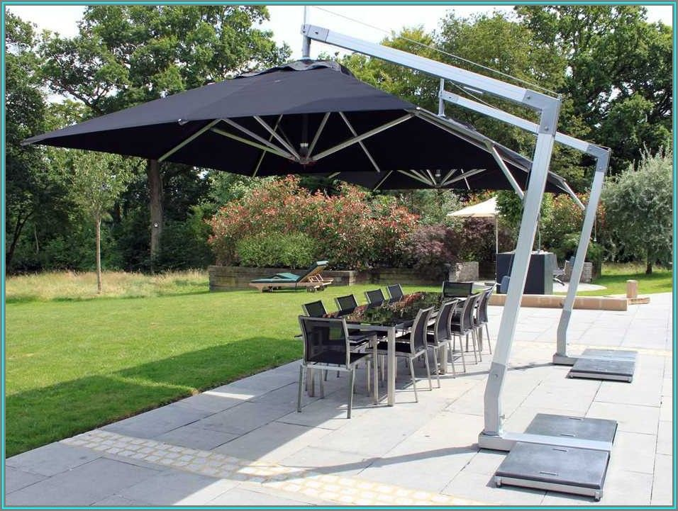 12 Ft Square Patio Umbrella