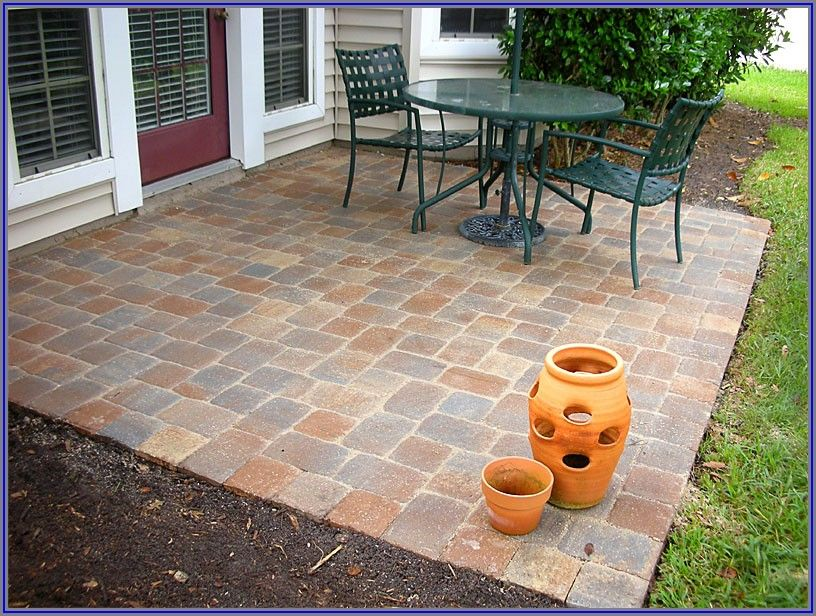 12 X 12 Patio Paver Designs