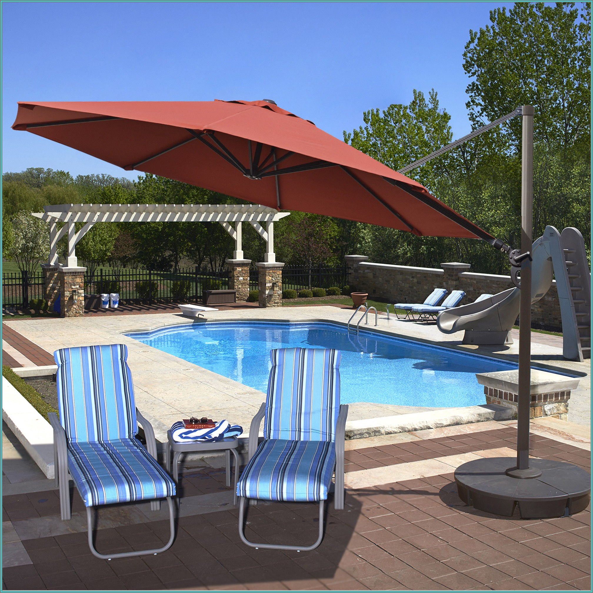 13 Cantilever Patio Umbrella