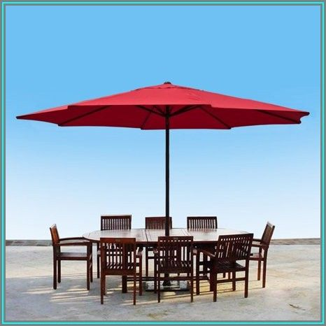 13 Ft Patio Market Umbrellas