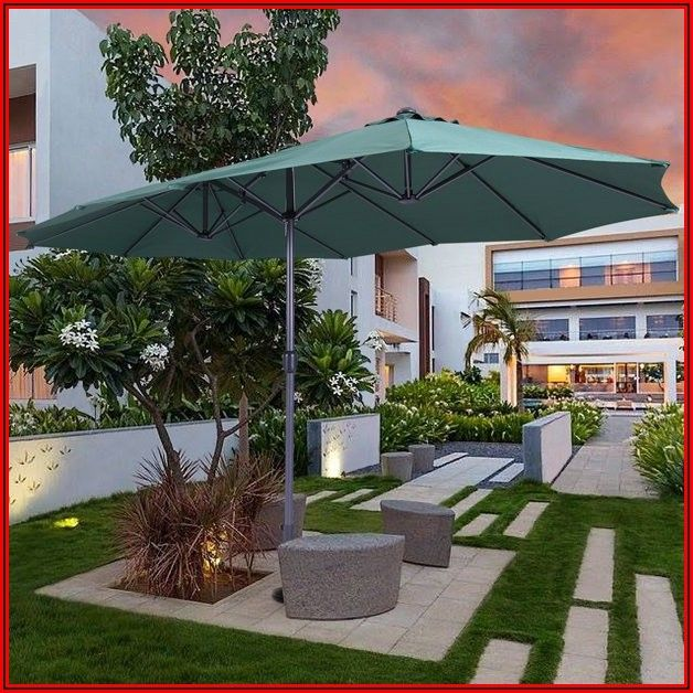 15 Foot Cantilever Patio Umbrella