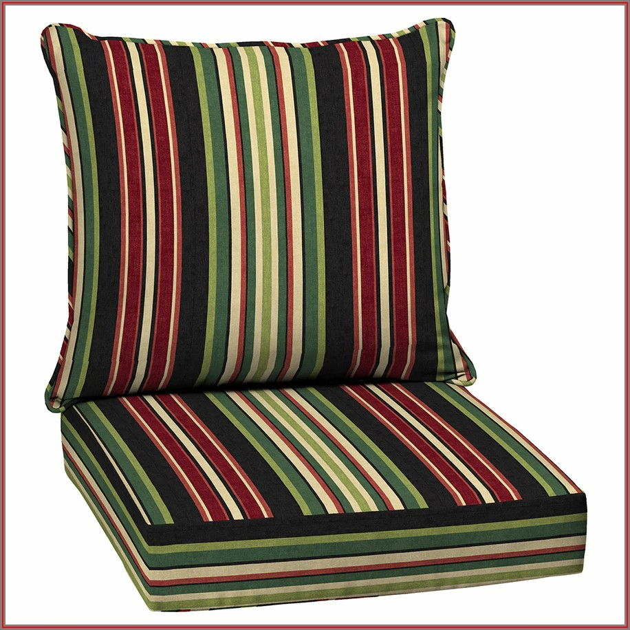 2 Piece Patio Chair Cushions