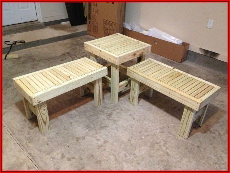 2 X 4 Patio Furniture