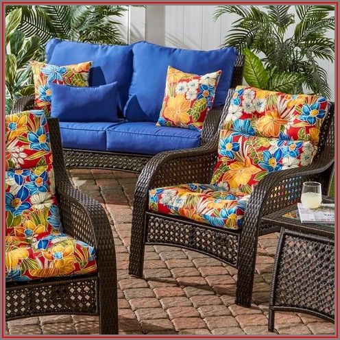20 X 21 Patio Chair Cushions