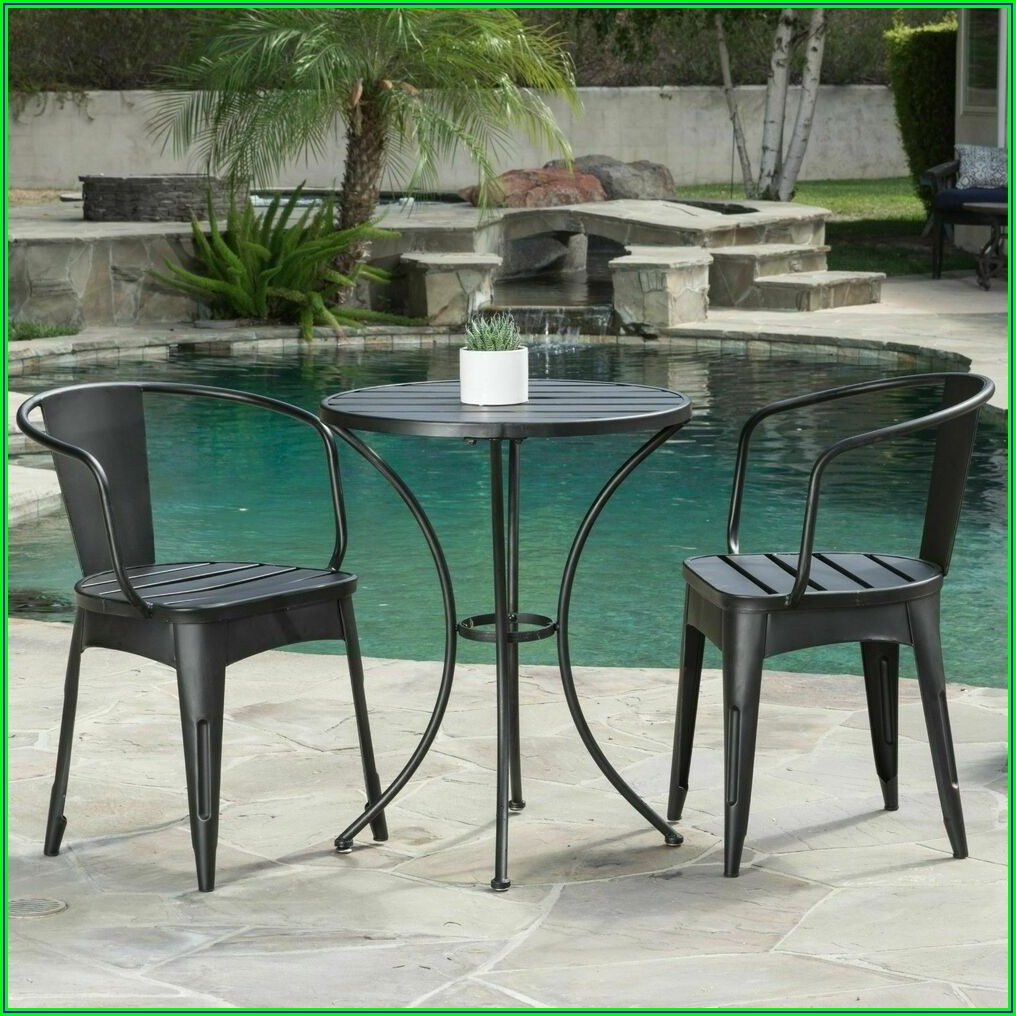 3 Piece Cast Iron Patio Set