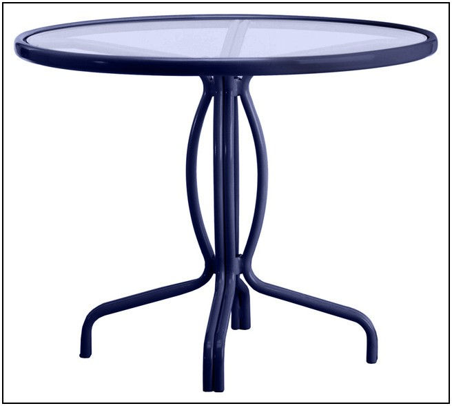 36 Inch Round Patio Table With Umbrella Hole