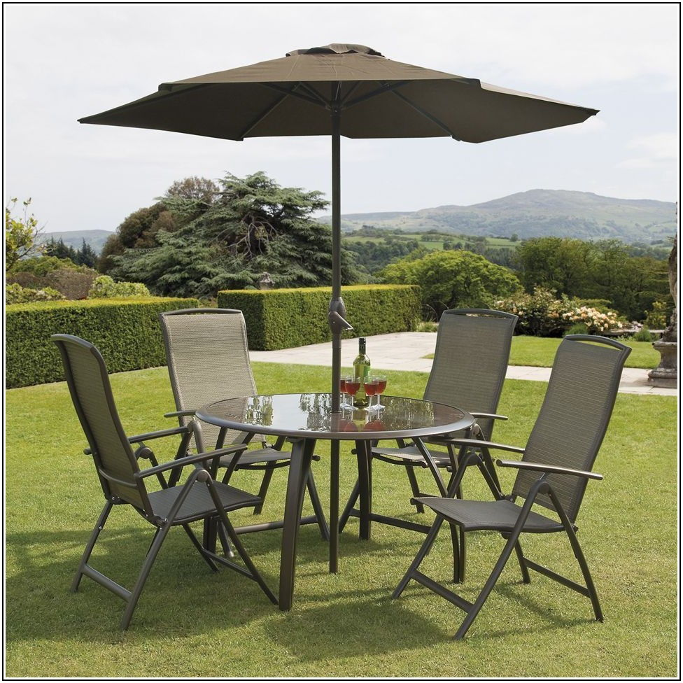 4 Seater Patio Set Makro