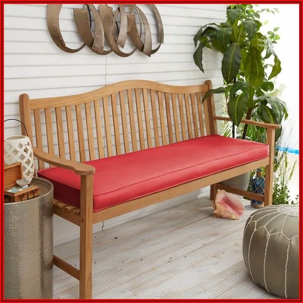 48 Inch Patio Bench Cushion