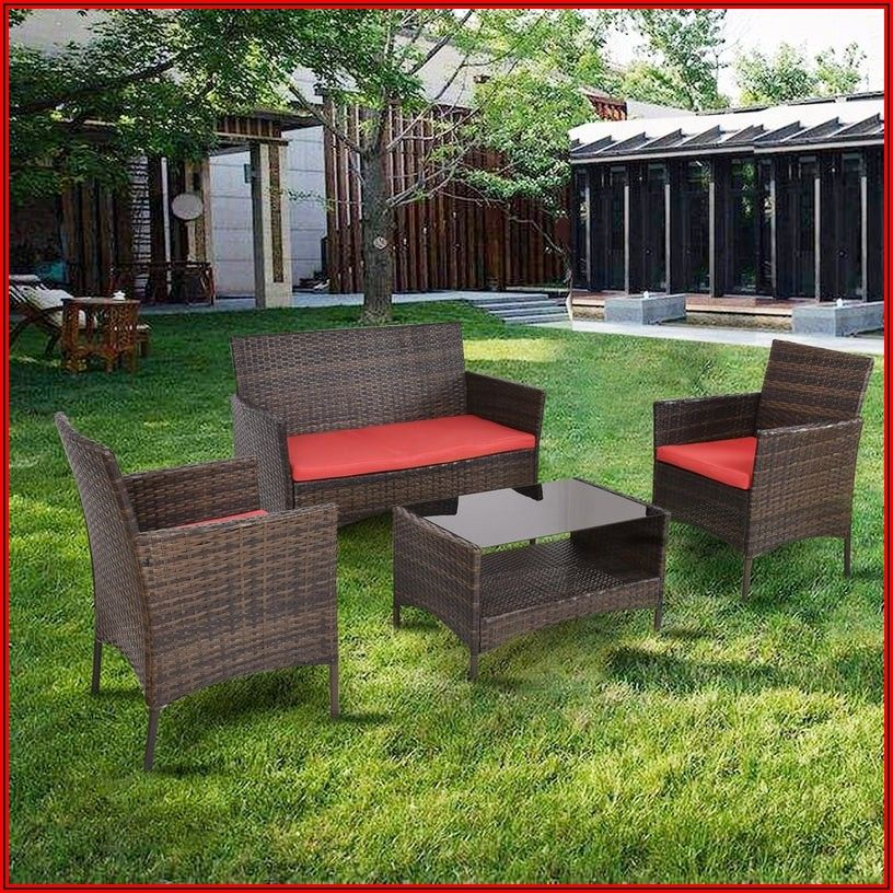 4pc Patio Furniture Set