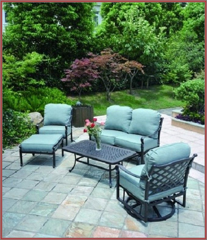 5 Piece Cast Aluminum Patio Set