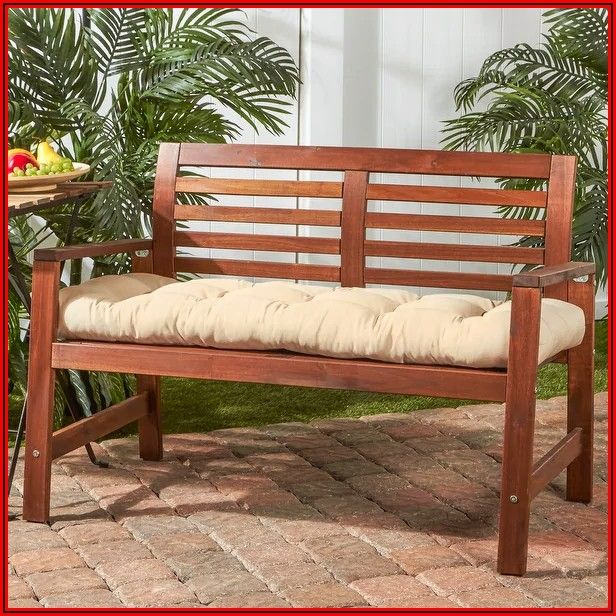 50 Inch Patio Bench Cushions
