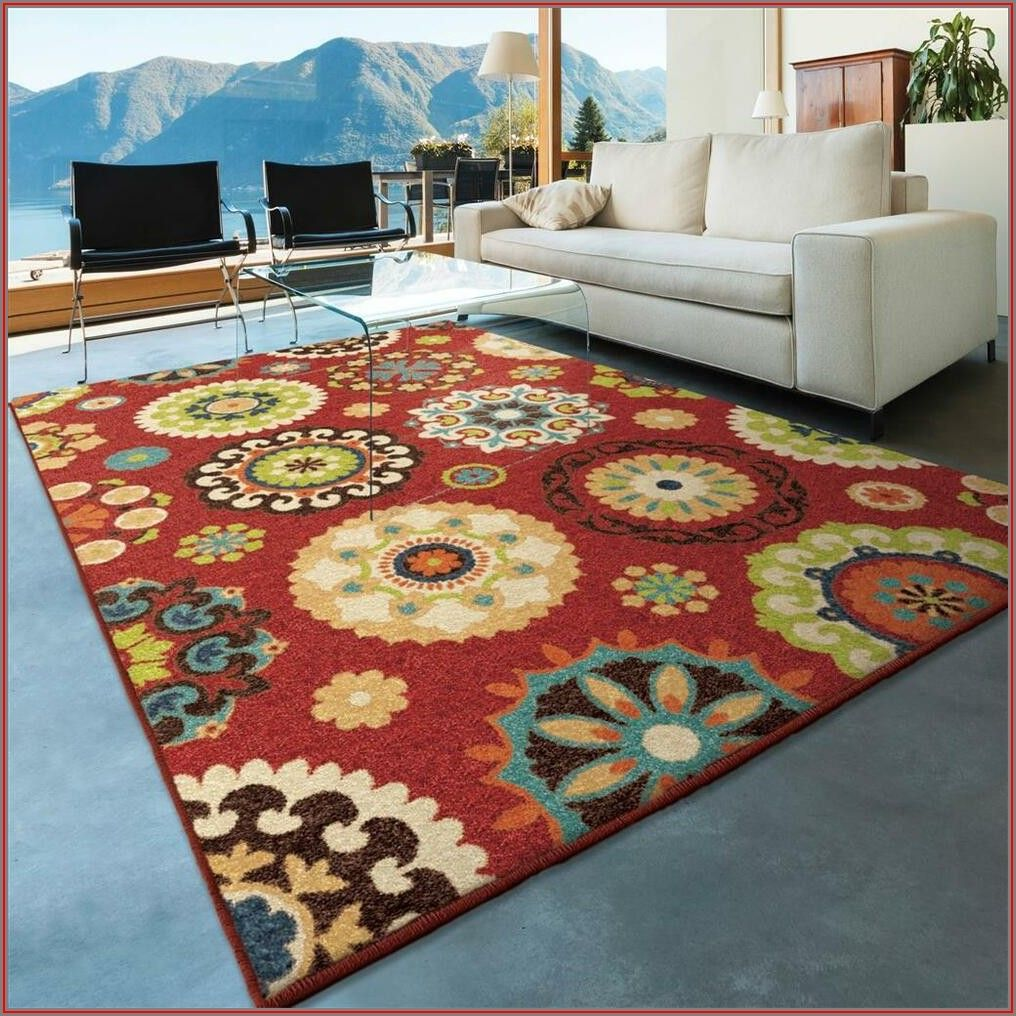 5x8 Outdoor Patio Rug