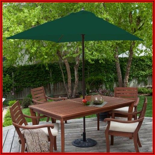 6 Ft Square Patio Umbrella