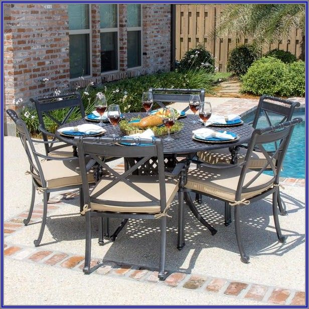 6 Person Patio Table Dimensions