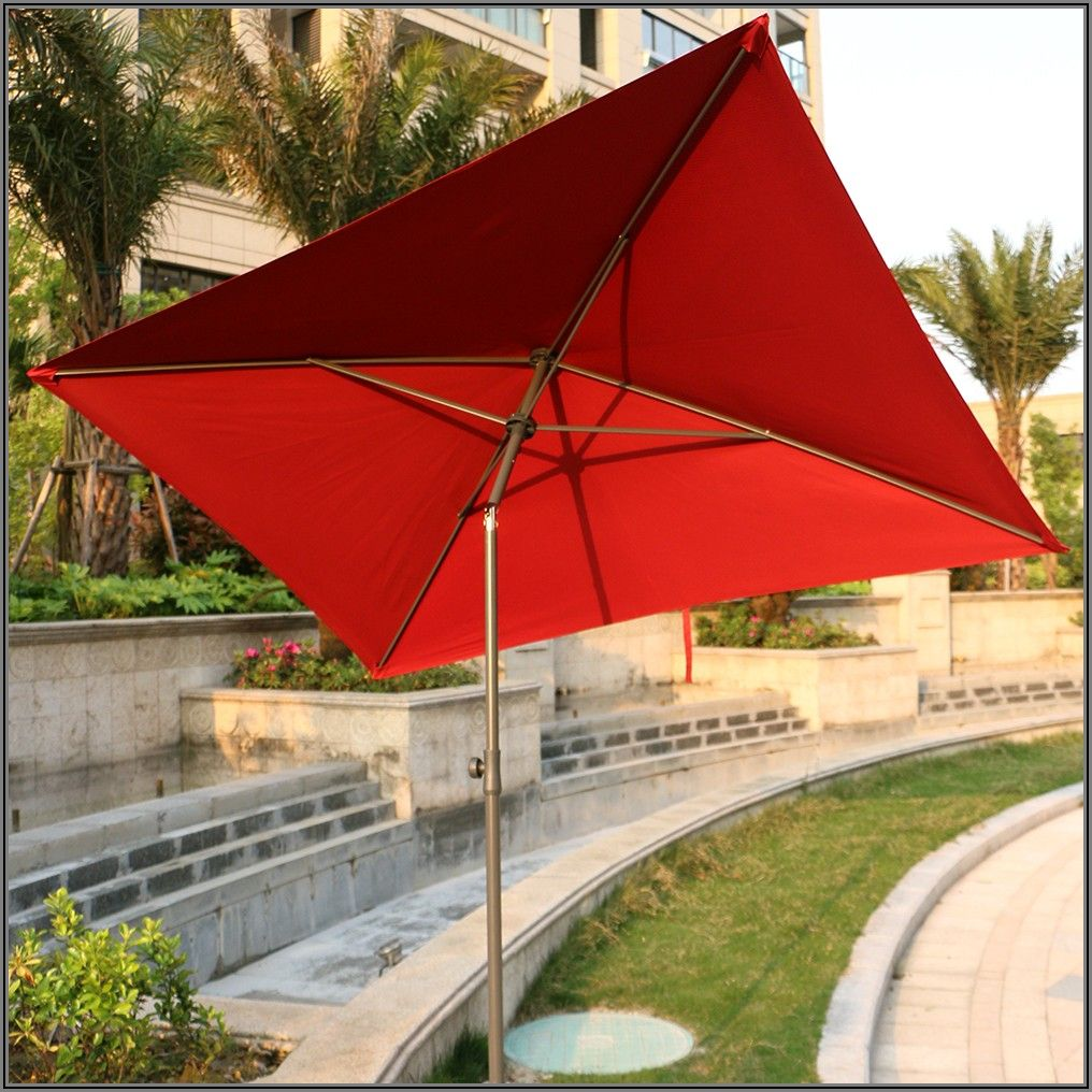 7 Ft Square Patio Umbrella