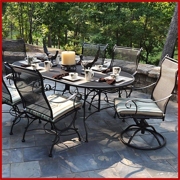 7 Piece Wrought Iron Patio Furniture