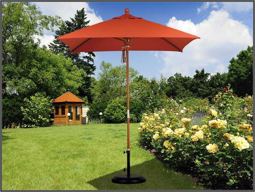 75 Foot Black Patio Umbrella