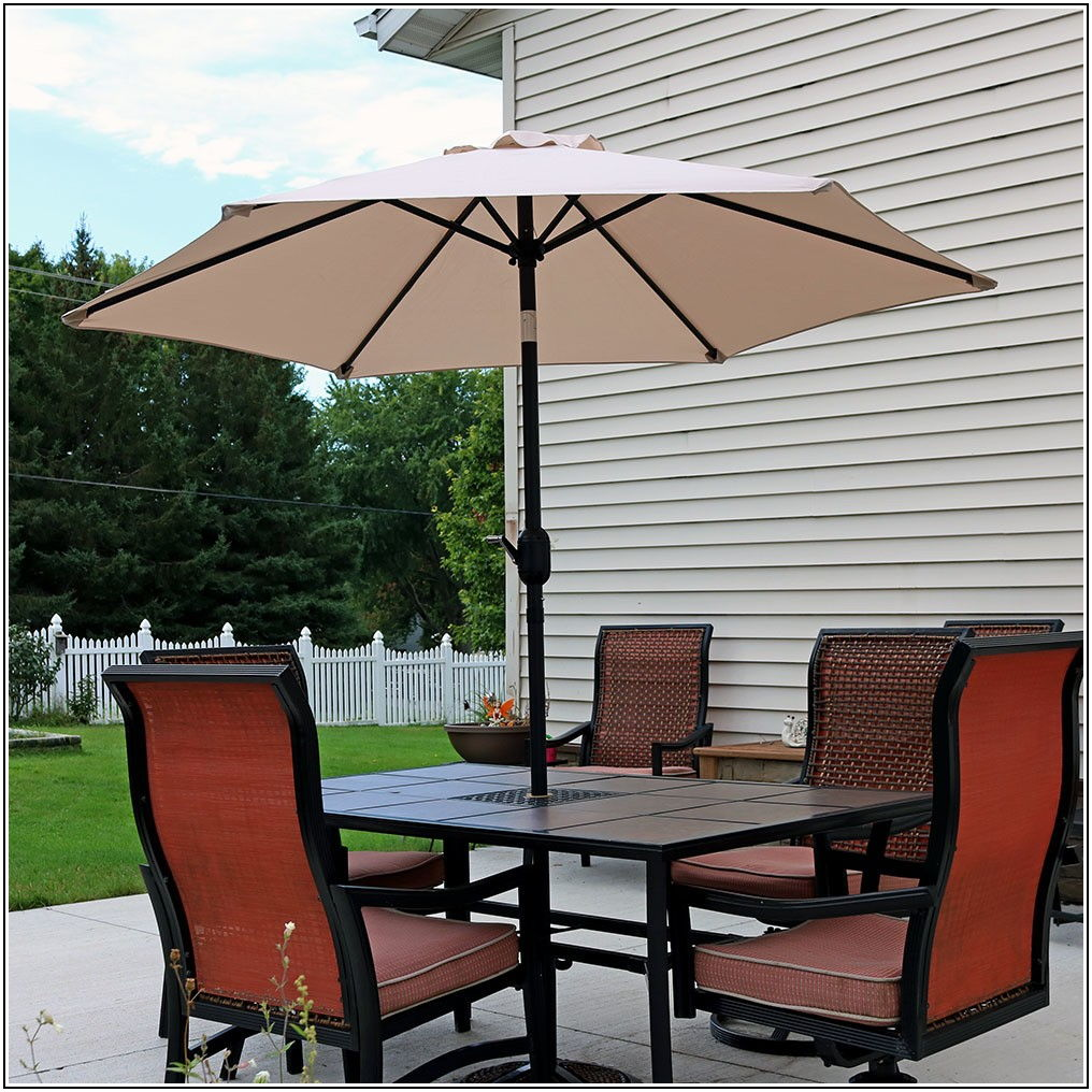 75 Foot Tilt Patio Umbrella