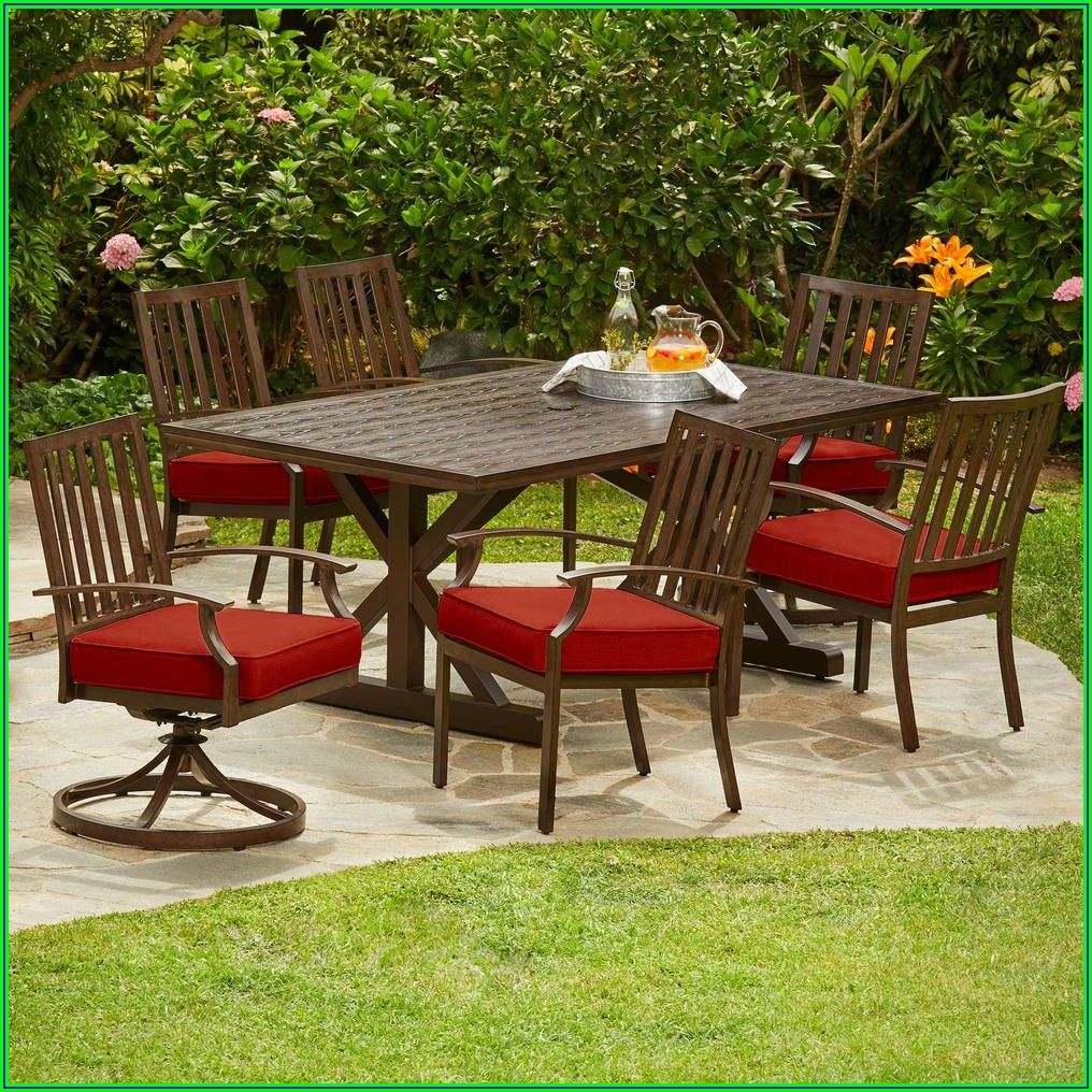 7pc Outdoor Patio Dining Set
