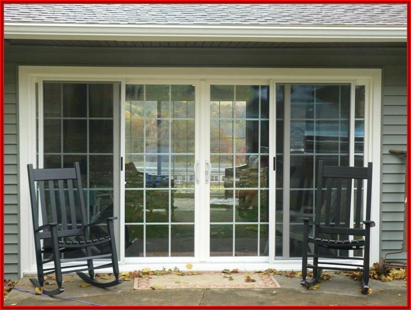 8 Foot Andersen Sliding Patio Door