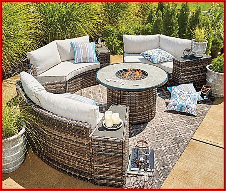 8 Piece Patio Furniture Set