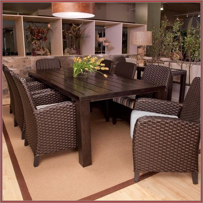 8 Seat Patio Table Set