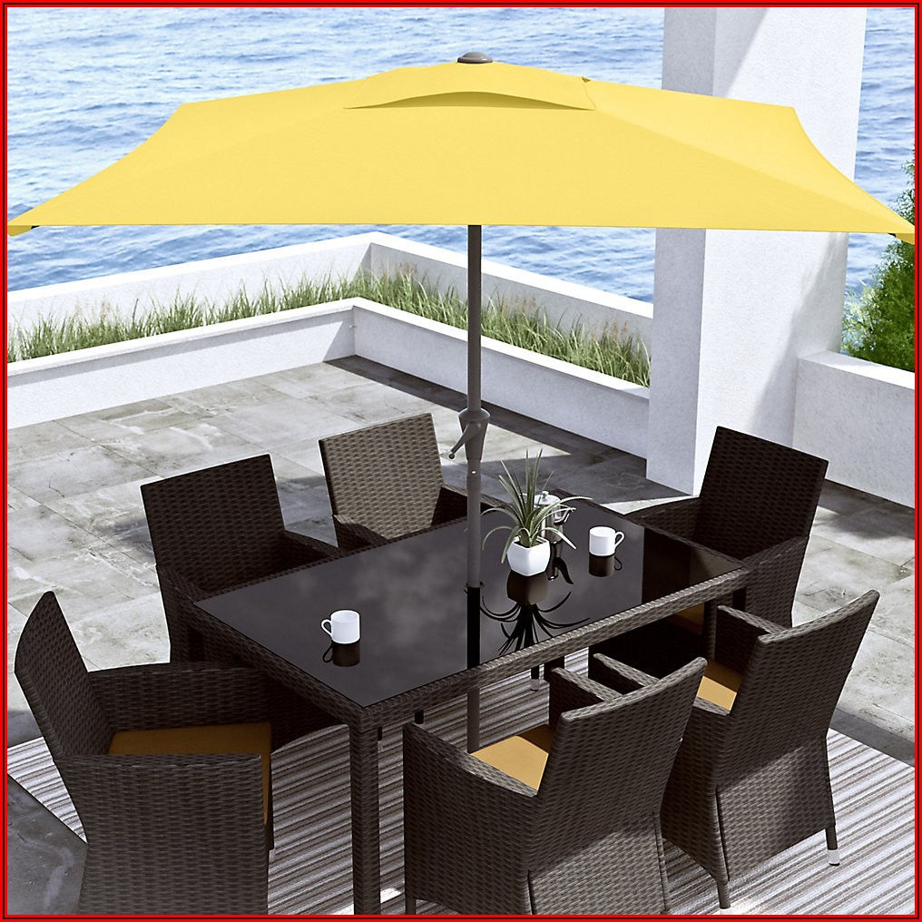 9 Ft Square Patio Umbrella