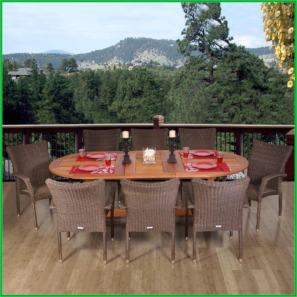 9 Piece Outdoor Patio Dining Set