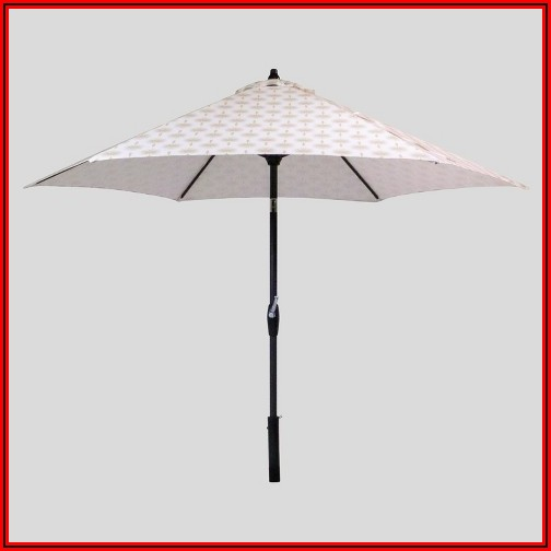 9 Round Patio Umbrella Threshold