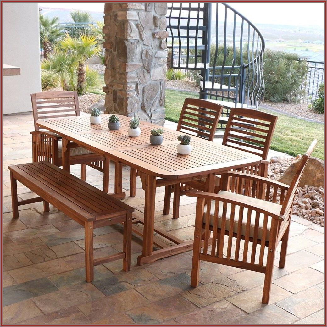 Acacia Wood Patio Chairs