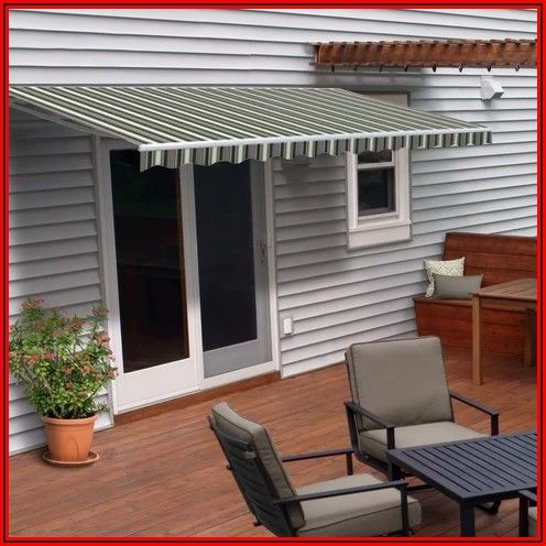 Aleko 13 X10 Retractable Patio Awning