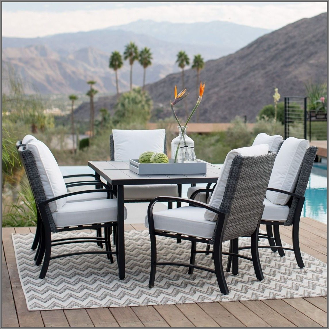All Weather Wicker Patio Dining Sets